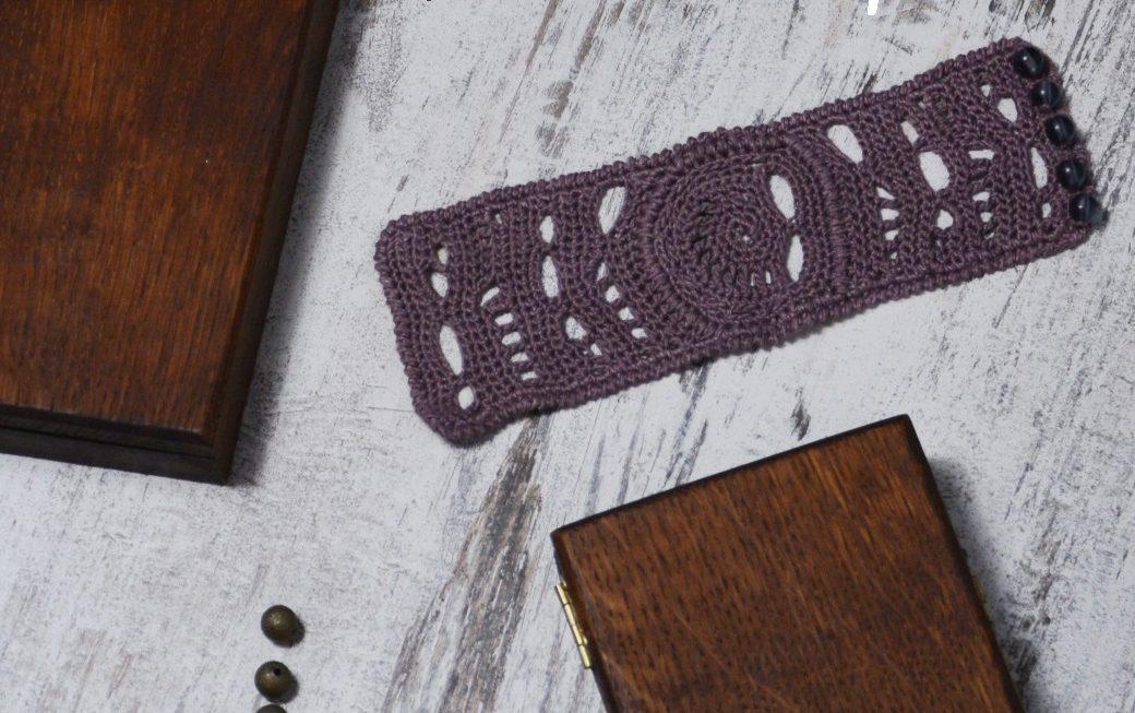 INCA bracelet – FREE crochet pattern