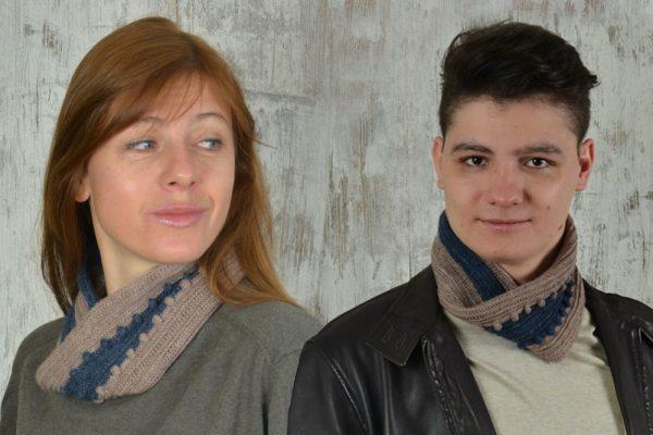 Easy crochet COWL Unisex – FREE crochet pattern