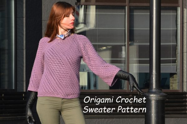 Origami Crochet Sweater – Test starts now