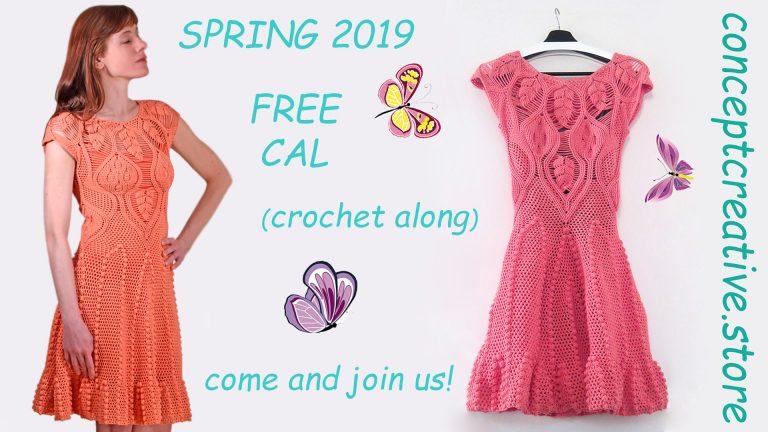 SPRING CAL: Crochet Dress Pattern