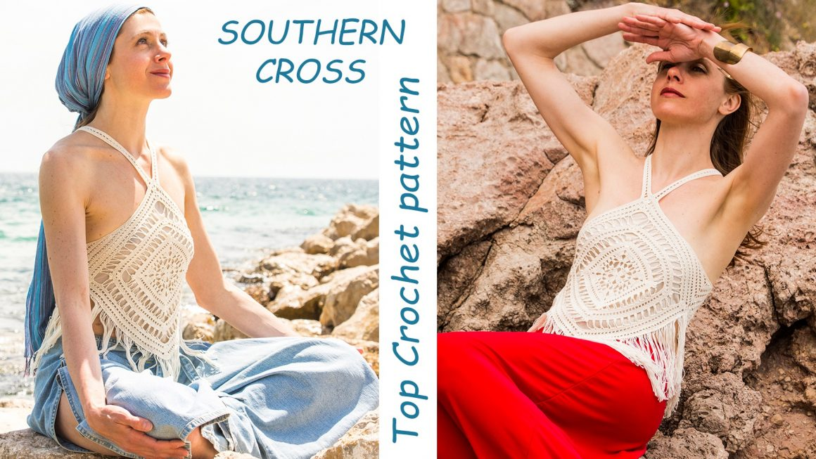 SOUTHERN CROSS Top Crochet pattern – published!