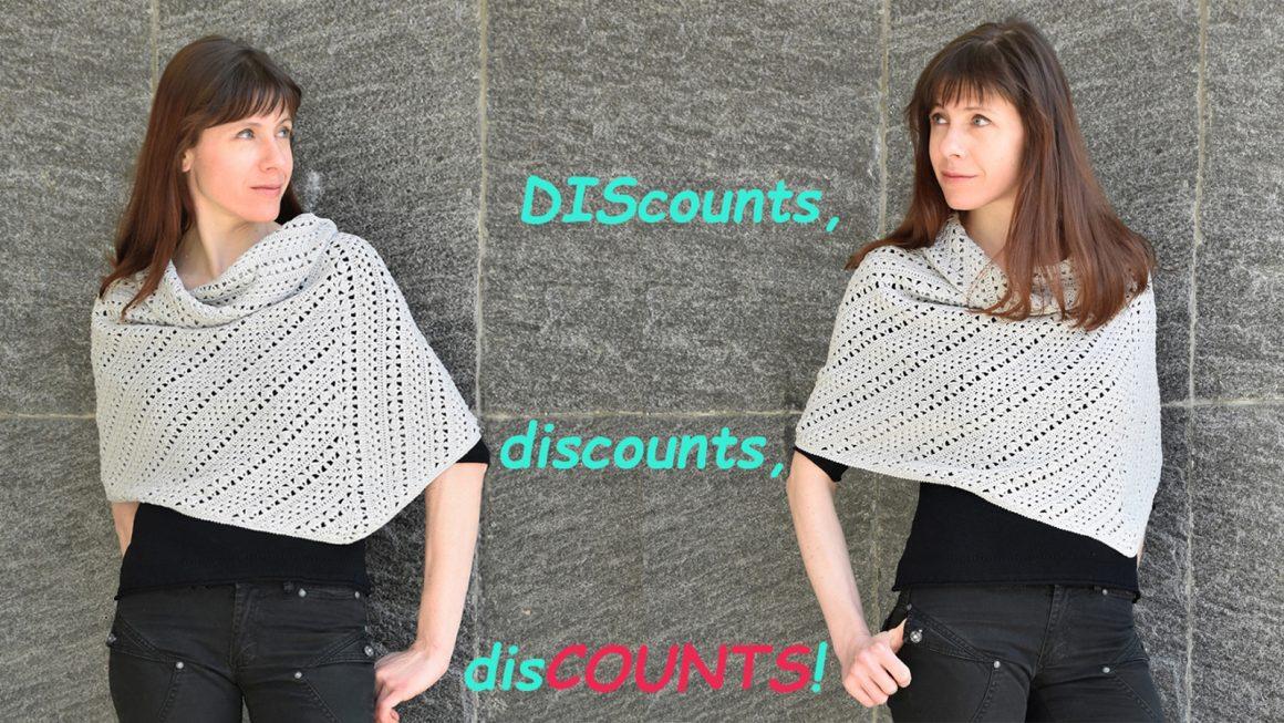 Discounts, discounts, disCOUNTS!
