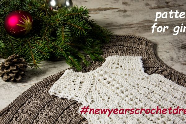 New Year's Dress-KIDS-Crochet Dress Pattern