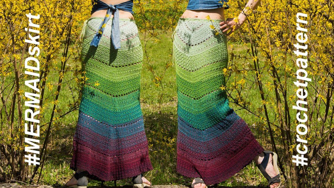 MERMAID: Crochet Skirt Pattern