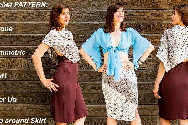 SERPENTINE: Crochet Wrap Pattern