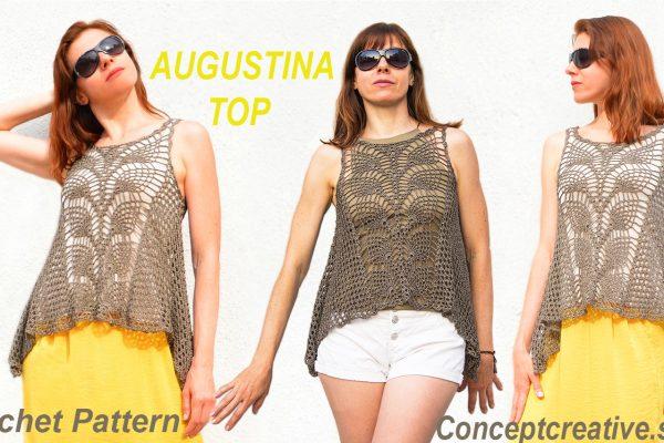 AUGUSTINA Top Crochet Pattern
